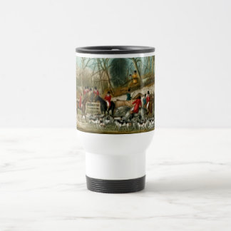 Fox Hunting 1 Travel Mug