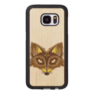 Fox Illustration Wood Samsung Galaxy S7 Case
