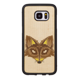 Fox Illustration Wood Samsung Galaxy S7 Edge Case