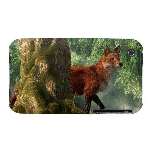 Fox in a Forest iPhone 3 Case-Mate Case