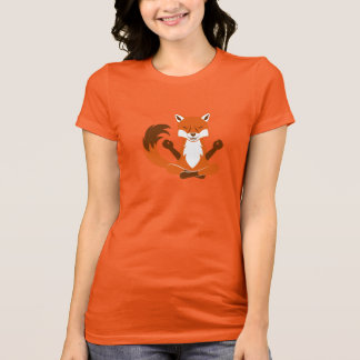 Fox in a yoga pose. T-Shirt