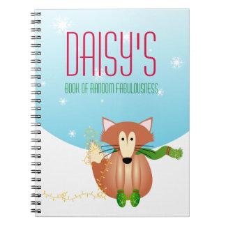 Fox in Mittens Notebook