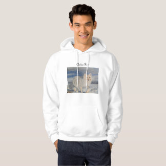 Fox in the Artic. Hoodie