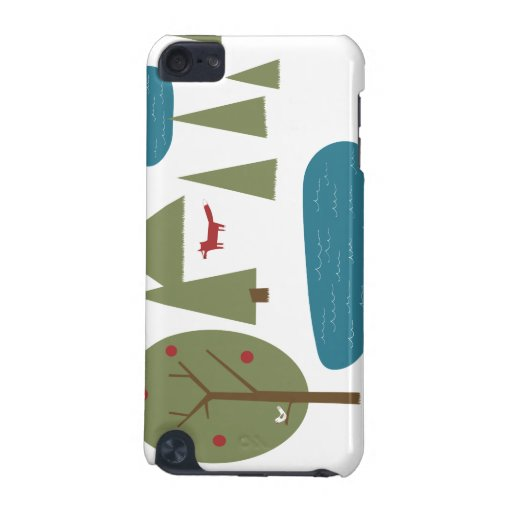 Fox in the Forest iPod Touch 5G Cover