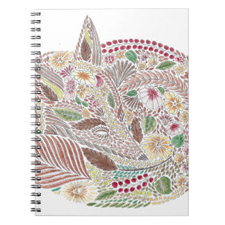 Fox in the Leaves Notebook