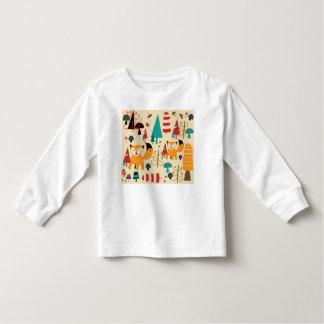 Fox in wild toddler T-Shirt