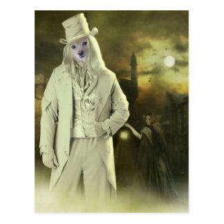 Fox Is A Ghoul Postcard