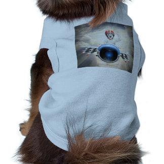 Fox Is A Kiddy Plane Pilot Sleeveless Dog Shirt