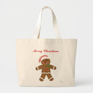 Fox Is The Gingerbread Man Canvas Bag