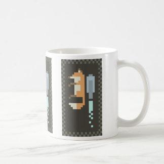 Fox Jetpack Pixel Art Mug