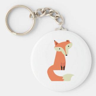 Fox Key Ring