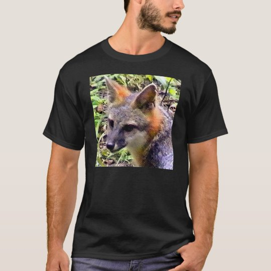 FOX KIT PLAYING IN THE BRUSH T-Shirt