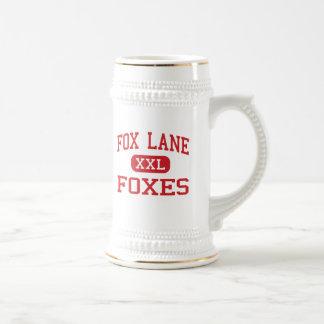 Fox Lane - Foxes - High School - Bedford New York Beer Stein