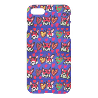 fox leaves heart iPhone 8/7 case