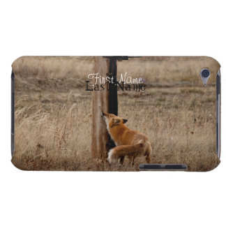 Fox Loves Utility Pole Customizable Barely There iPod Cases