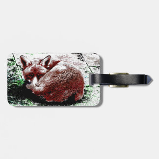Fox Luggage Tag