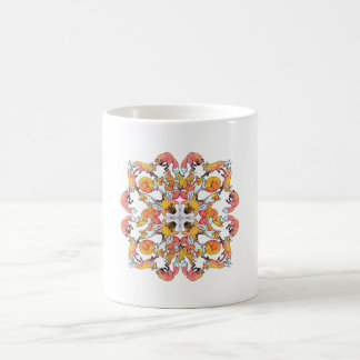Fox Mandala Coffee Mug