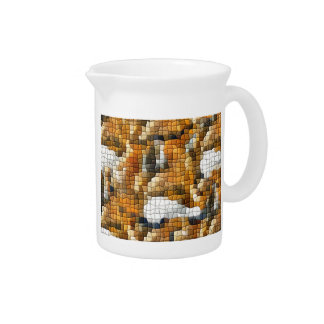 FOX MOSAIC PITCHER