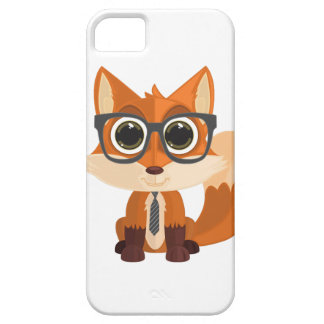 Fox Nerd Case For The iPhone 5