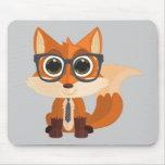 Fox Nerd Mousepad