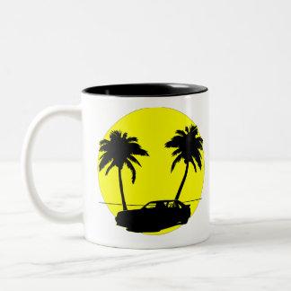 Fox on the beach Coffee mug