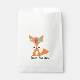 Fox Party Supplies Favour Bags