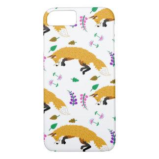 Fox Pattern iPhone 7 Case