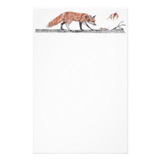 fox pencil stationery