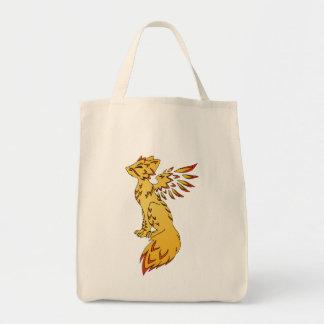 Fox Phoenix Tote Bag