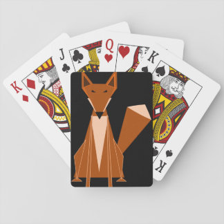 Fox Playing Cards