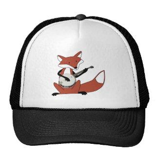 Fox Playing the Banjo Cap