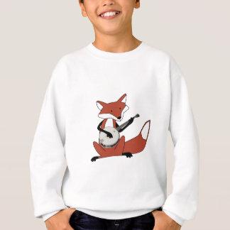 Fox Playing the Banjo Sweatshirt