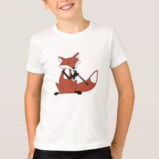 Fox Playing the Clarinet T-Shirt