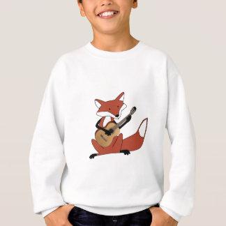 Fox Playing the Guitar Sweatshirt