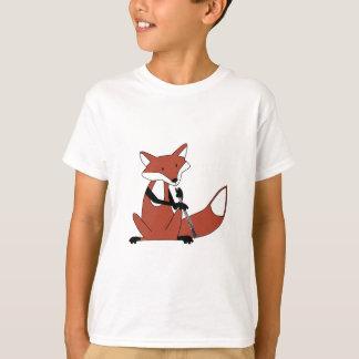 Fox Playing the Oboe Tshirt