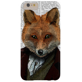 Fox Portrait 2 Barely There iPhone 6 Plus Case