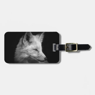 Fox Portrait Luggage Tag