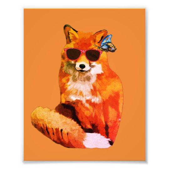 Fox Poster Kodak Professional Photo Paper