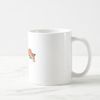 Fox Pounce Basic White Mug