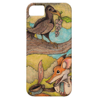 Fox & Raven from Aesop's Fables iPhone 5 Case
