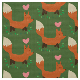 fox retro fabric