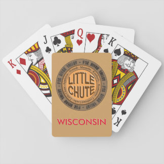 Fox River Valley _ Little Chute Wisconsin Cards Card Deck