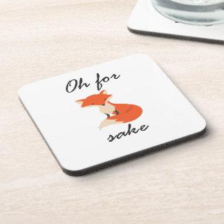 Fox Sake Coasters