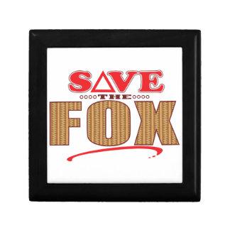 Fox Save Gift Box
