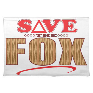 Fox Save Placemat
