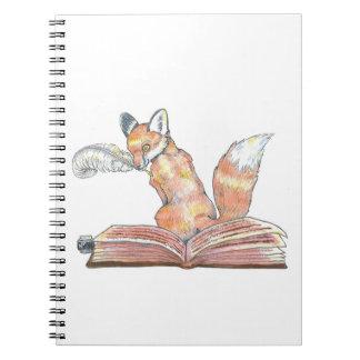 Fox Scribe Notebook