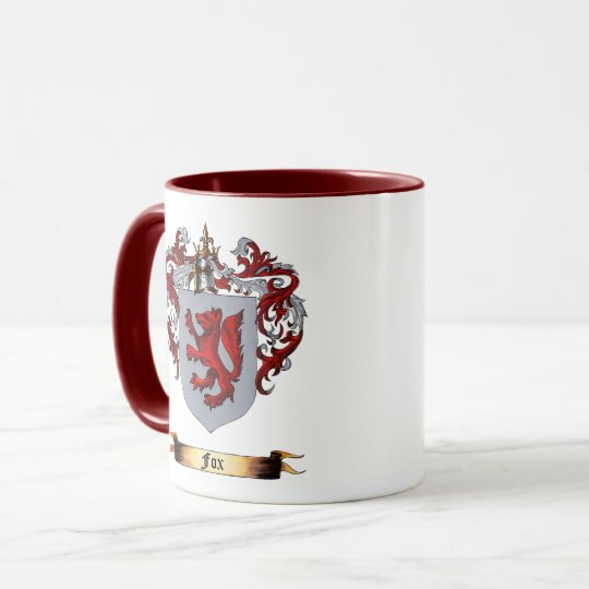 Fox Shield of arms Mug