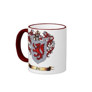 Fox Shield of arms Ringer Mug