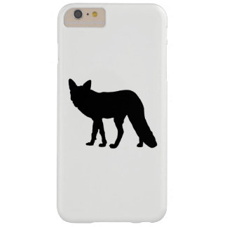 Fox Silhouette Barely There iPhone 6 Plus Case