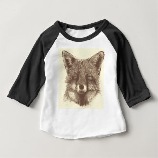 Fox sketch baby T-Shirt